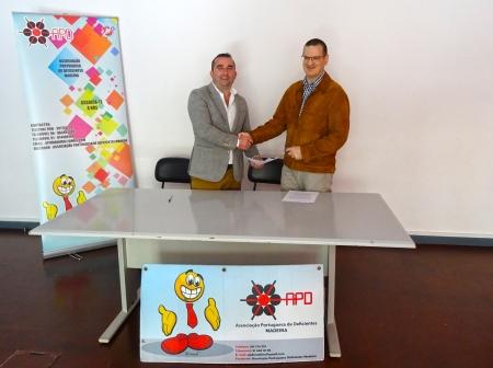 Protocolo ANunes - Associação das Pessoas com Deficiência - Madeira